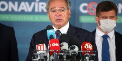 """Coronavoucher: Guedes diz que governo deve renovar auxílio por """"2 ou 3 meses"""""""