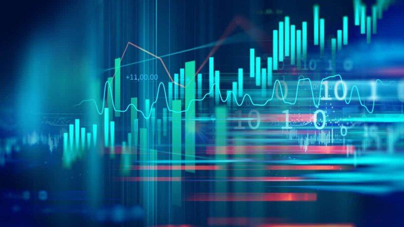 Ibovespa testa 123 mil pts. com avanço de 0,87% impulsionado por commodities; BTG sobe 3%