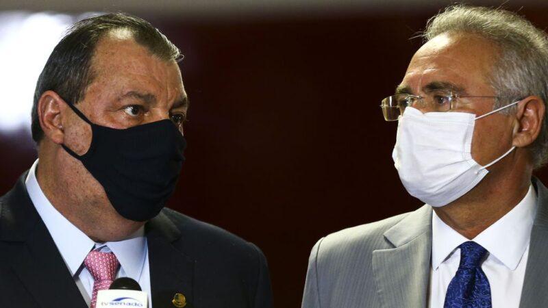 CPI da Covid-19 elege Omar Aziz como presidente e Renan Calheiros, relator