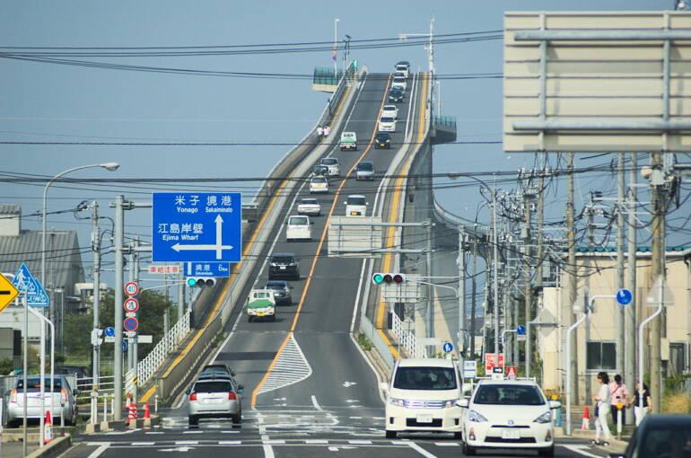 Most Eshima Ohashi, Japonsko