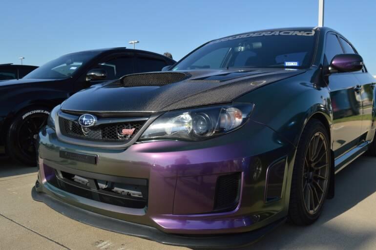 STI – sportovní vozy Subaru