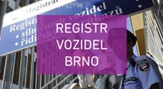 Registr vozidel Brno