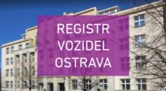 Registr vozidel Ostrava