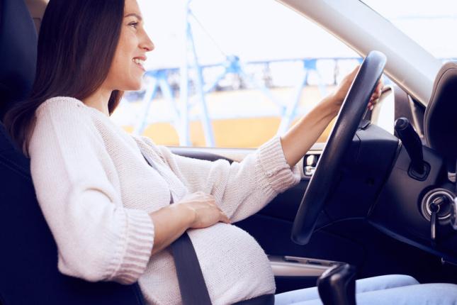 I těhotné ženy mohou řídit
