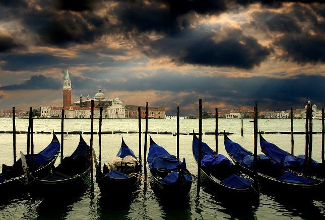 Pohled na Benátky