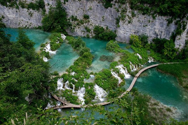 Plitvická jezera, přírodní skvost Chorvatska