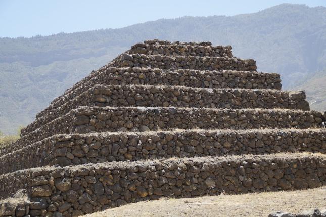 Pyramida v Güímaru