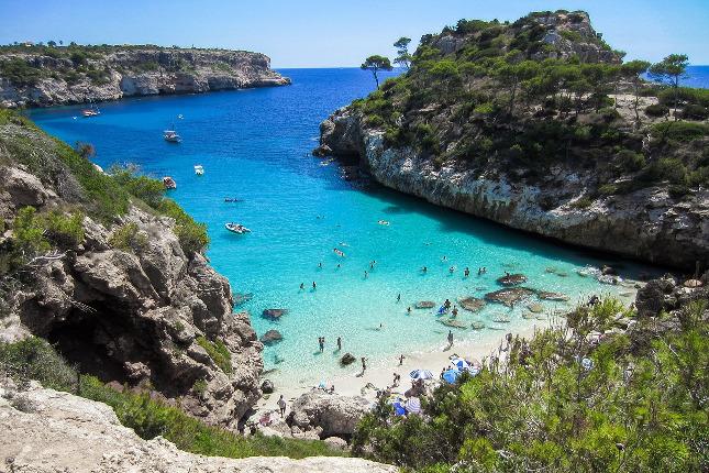 Pláž, Mallorca