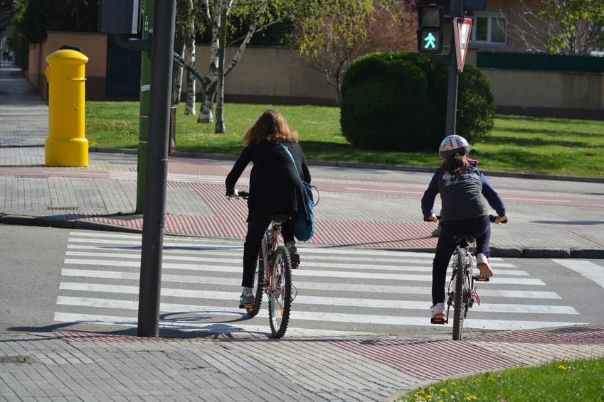 Cyklista při dopravní nehodě