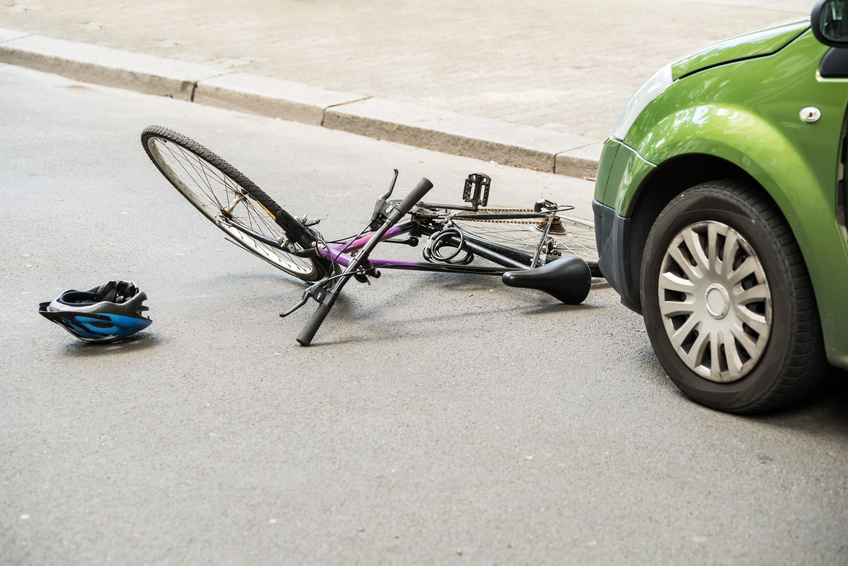 Dopravní nehoda s kolem