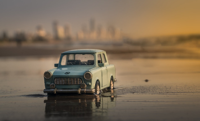 Automobil ve vodě