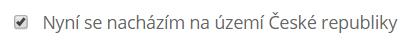 Kalkulačka cestovního pojištění - nacházím se na území ČR