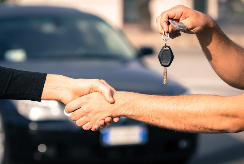 Převod a přepis auta