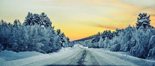 Tipy a rady, jak jezdit v zimě bez nehod – Zimní krajina