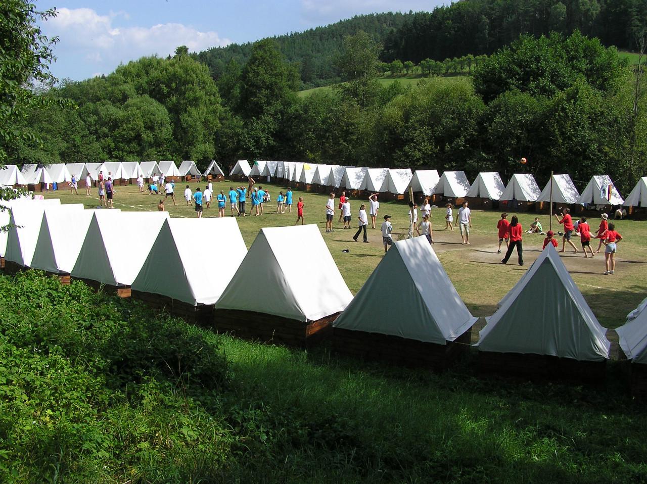 Tuzemské cestovní pojištění je vhodné i pro děti na tábor
