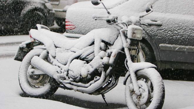 Jak zazimovat motorku