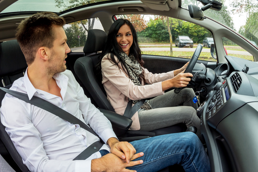 Žena za volantem