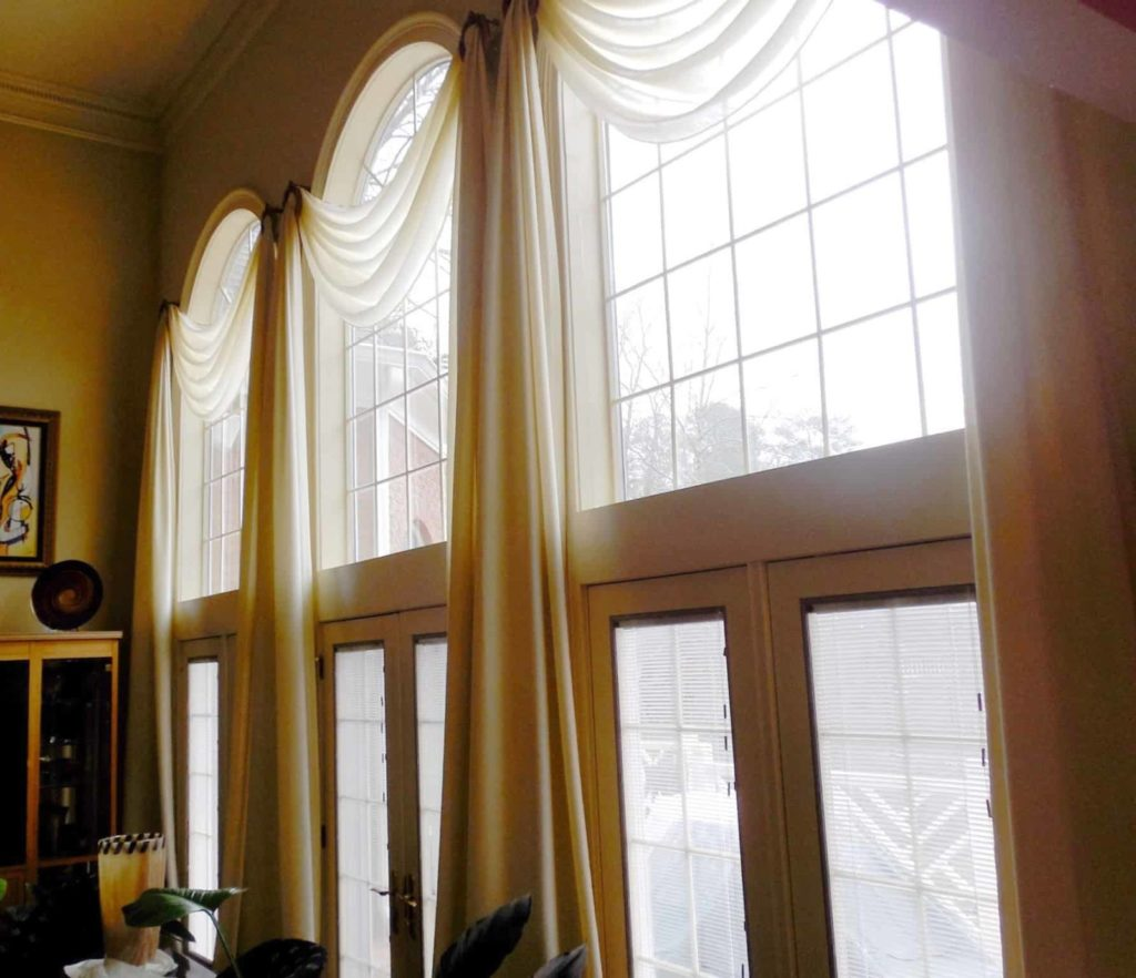 Dramatic Window Coverings