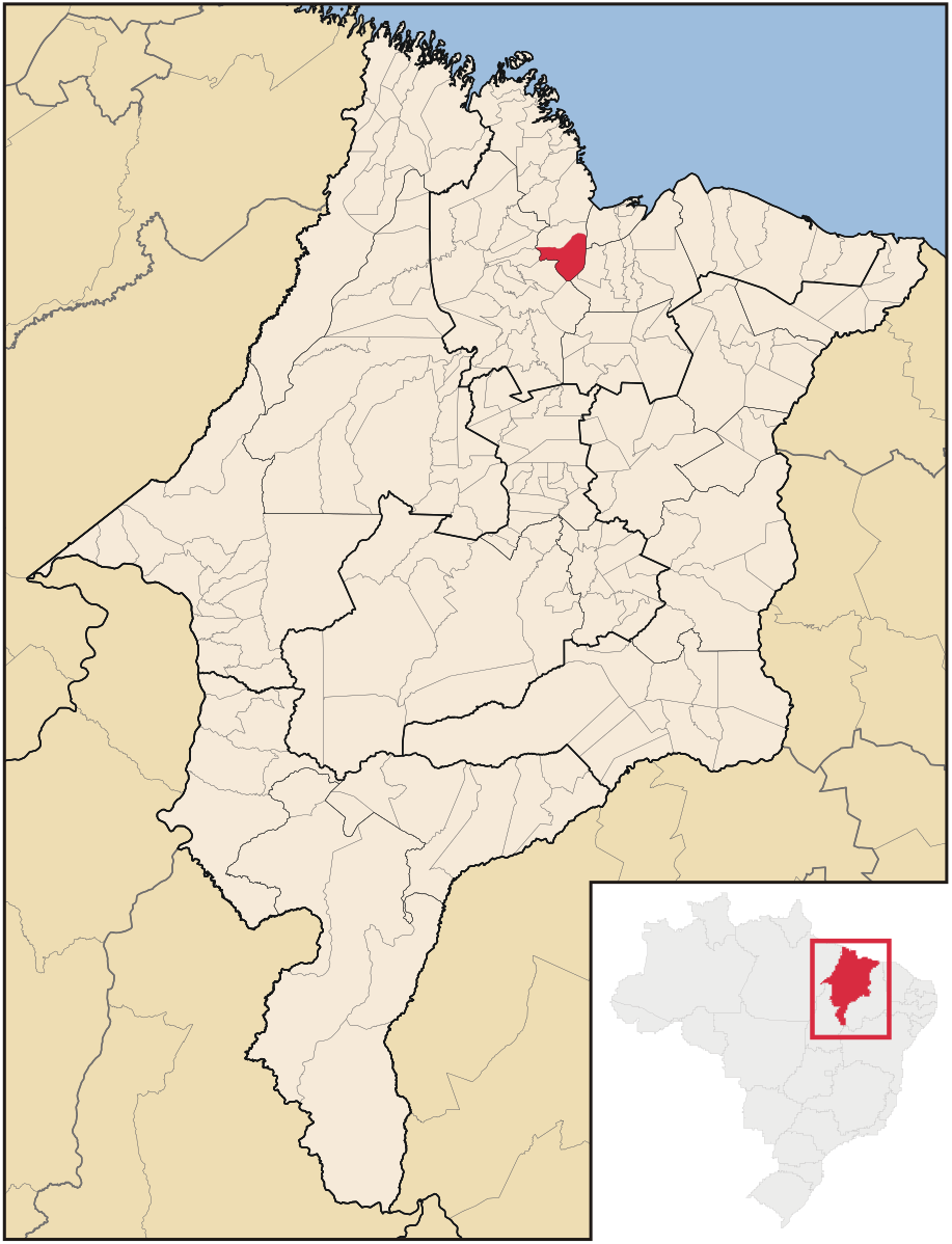 Cajapió - Cidade no estado do Maranhão