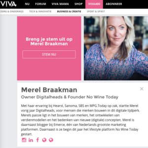 Merel van NWT in Viva 400