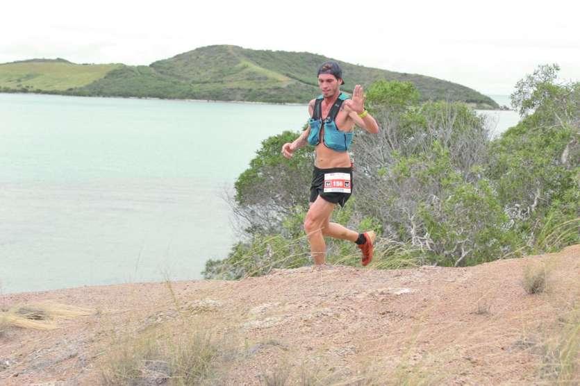 Yohan Samanich ici lors du Xterra Caledonia de Païta, le week-end dernier. Une course où il avait terminé à la 5e place.Photo Archives LNC