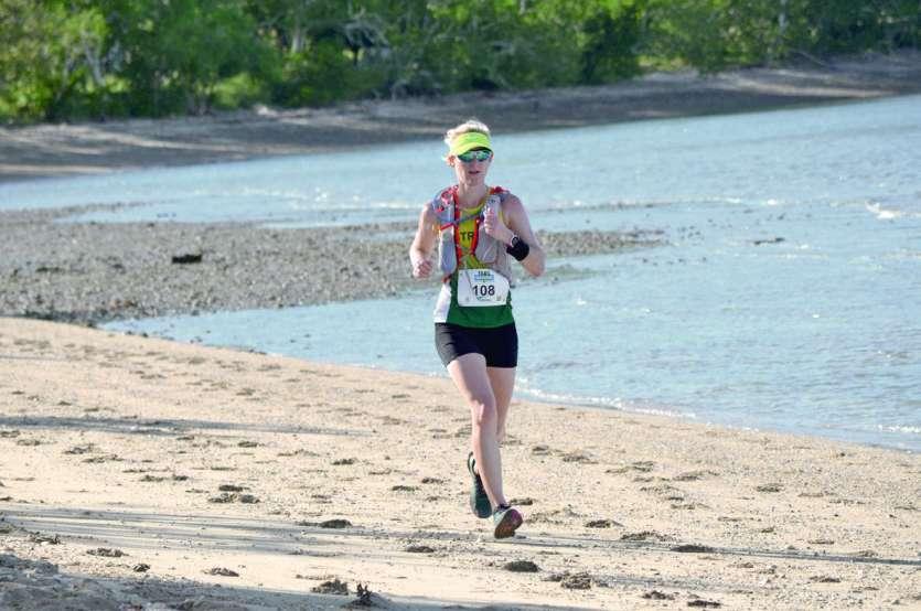 L'Australienne Emma Kraft, ici lors des Oceania l'an passé. Une course qu'elle avait remportée. Photo archives LNC