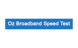 oz broadband speed test