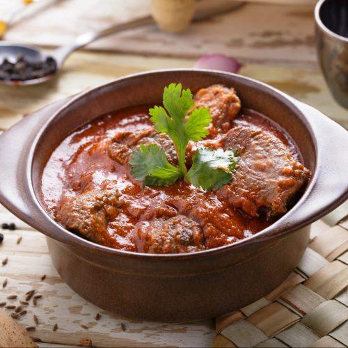 Lamb karahi