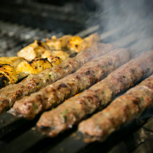 chicken kofta kebab