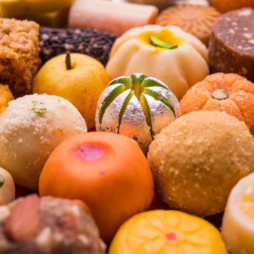 Mixed Indian Sweets
