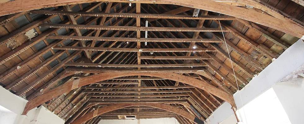 Wooden Roof Ceiling Structure
