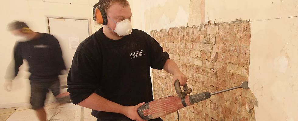 Removing Plaster of the Wall