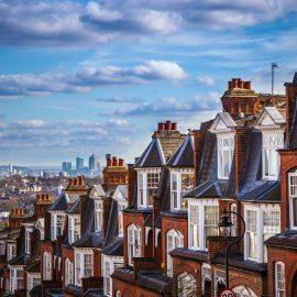 traditional British brick houses