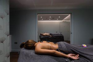 Couples Hot Stone Back Massage
