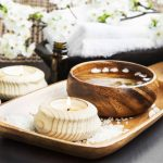Spa and Wellness Setting with Candle