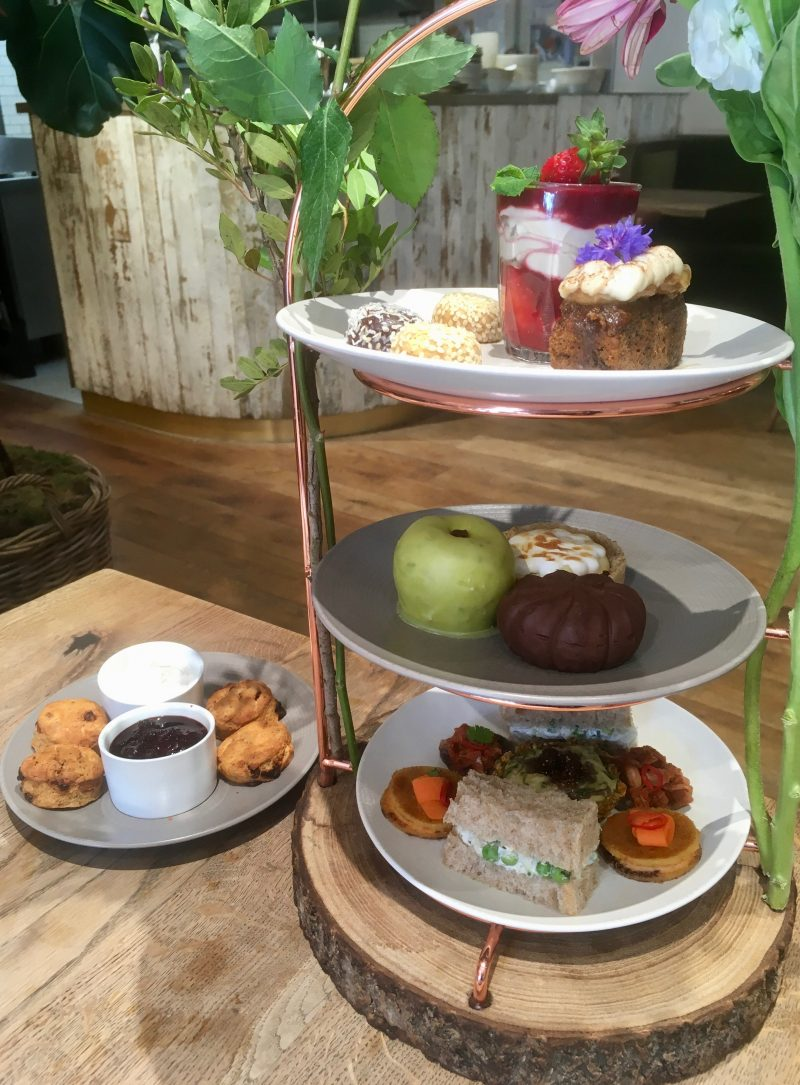 Vegan Afternoon Tea at Farmacy