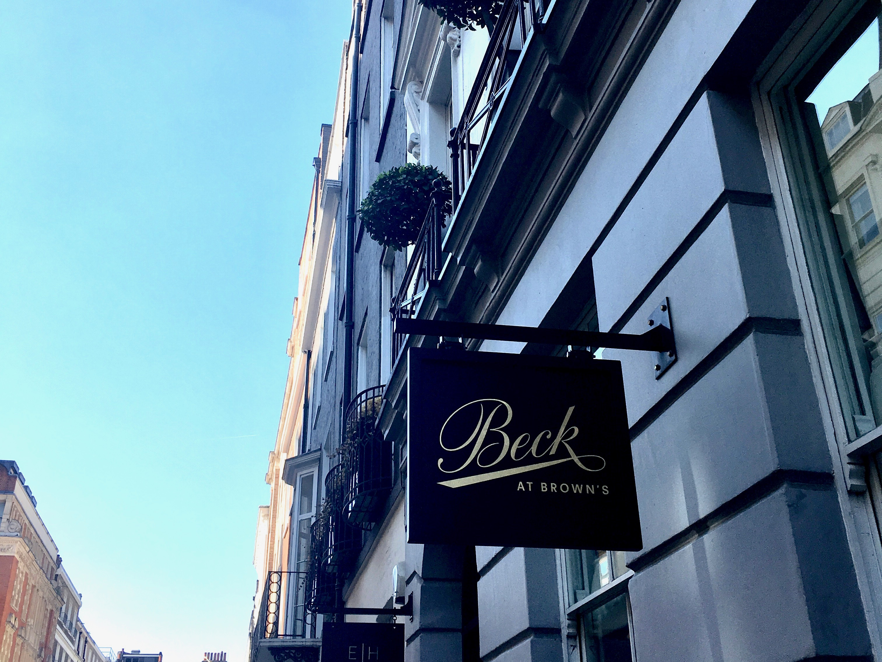 Healthy Italian Fine Dining at Beck in Mayfair