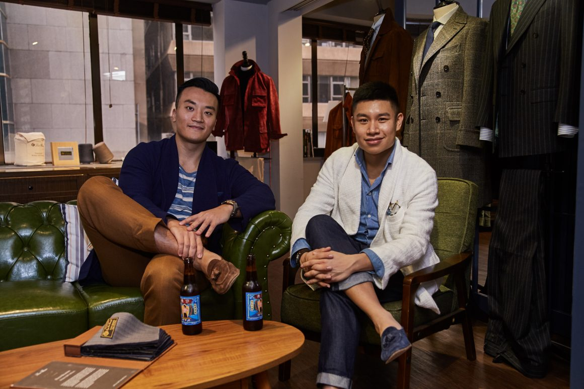 Tobe Fong & TC Ng, Co-founders, Craftsman Co.