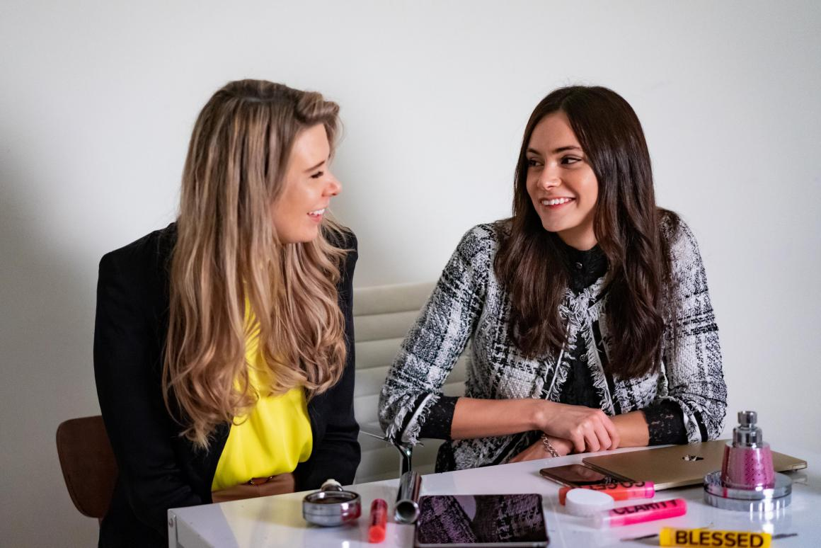 Kristina Velkova & Sara Douglas, Co-founders, Vitaclean HQ