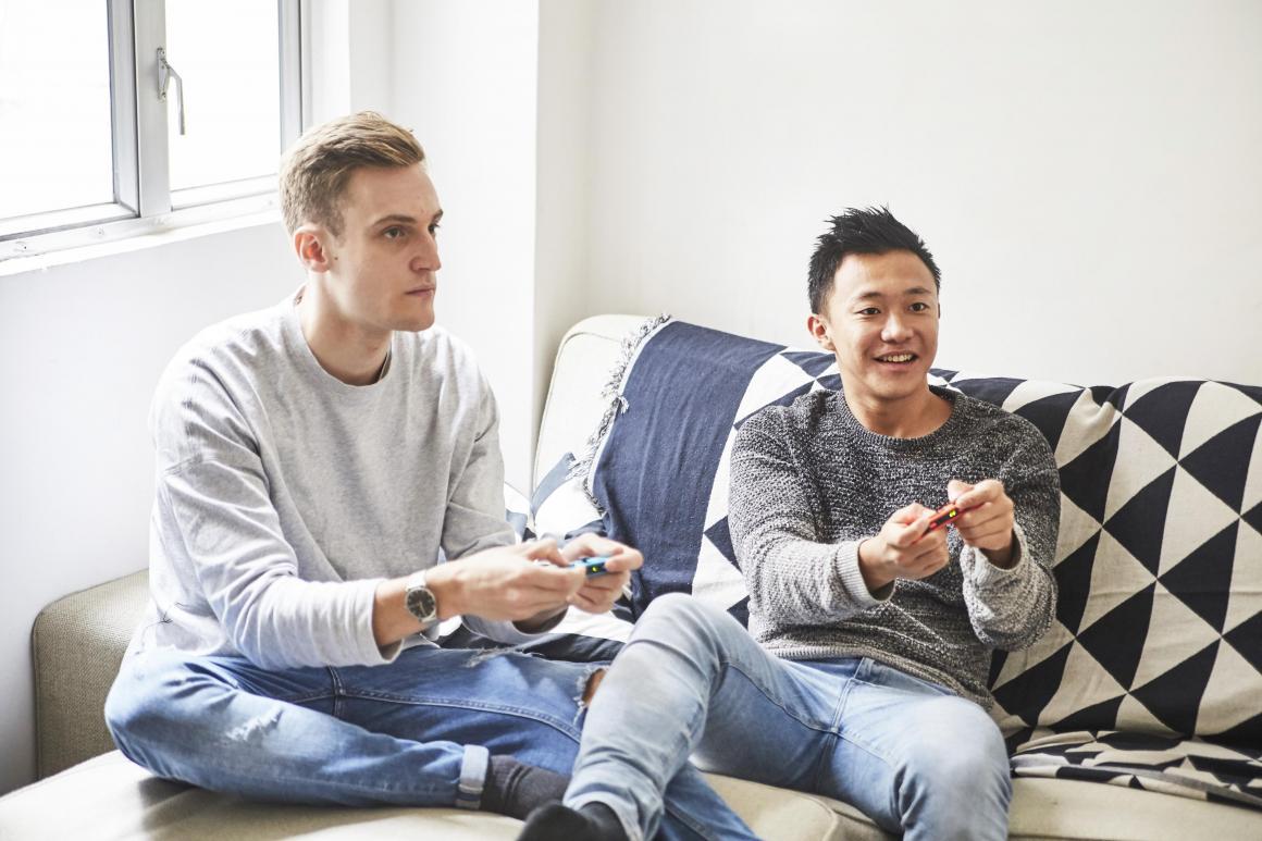 Charlz Ng & Joshua Jones, CEO & His Partner, Hybrid Group - Incredible Two, Kossie
