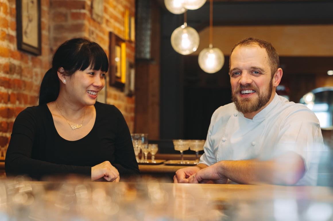 James Knappett & Sandia Chang, Head Chef & General Manager, Kitchen Table - Incredible Two