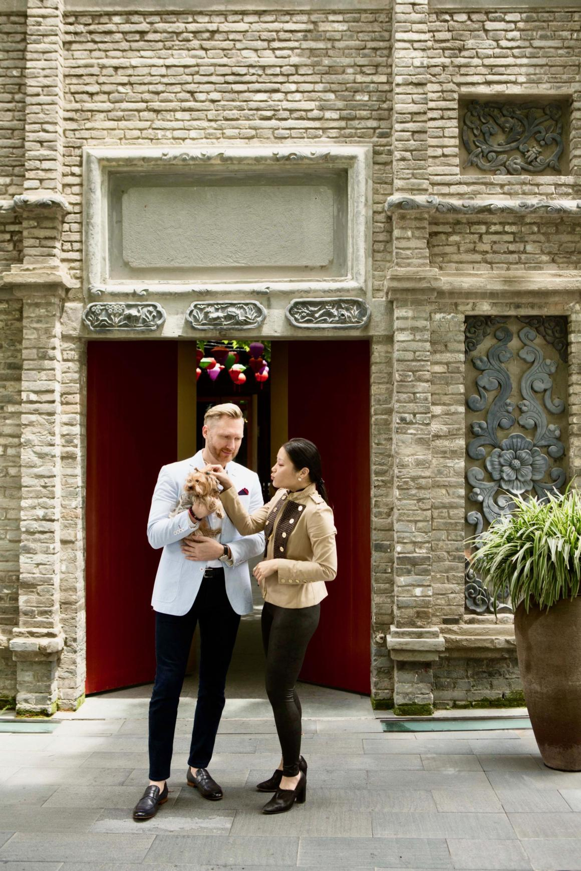 Kurt Macher & Grace Chuang, General Manager & Director of Communications, The Temple House