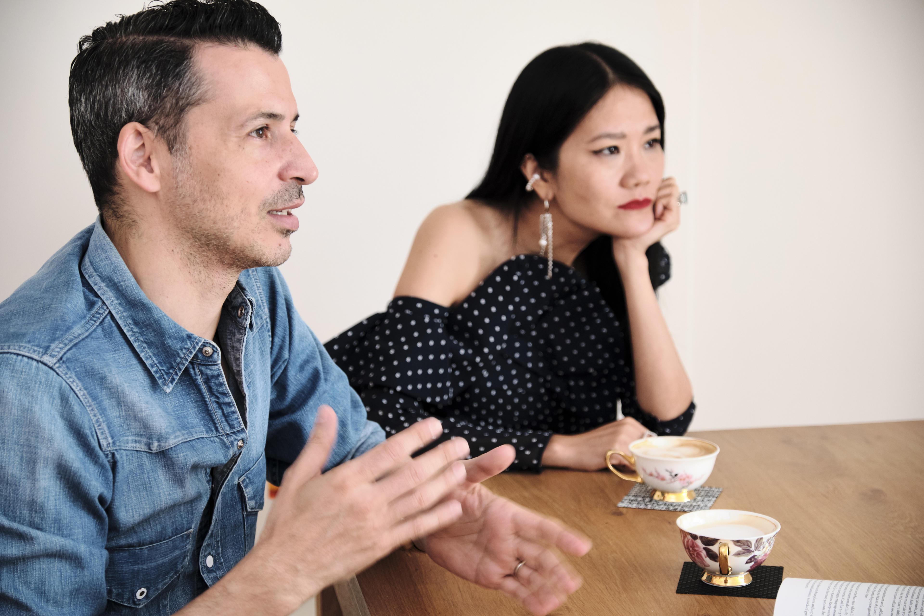 Grace Lam & Jason Capobianco, Fashion Director + Eco-Living Advocate & Fashion Photographer