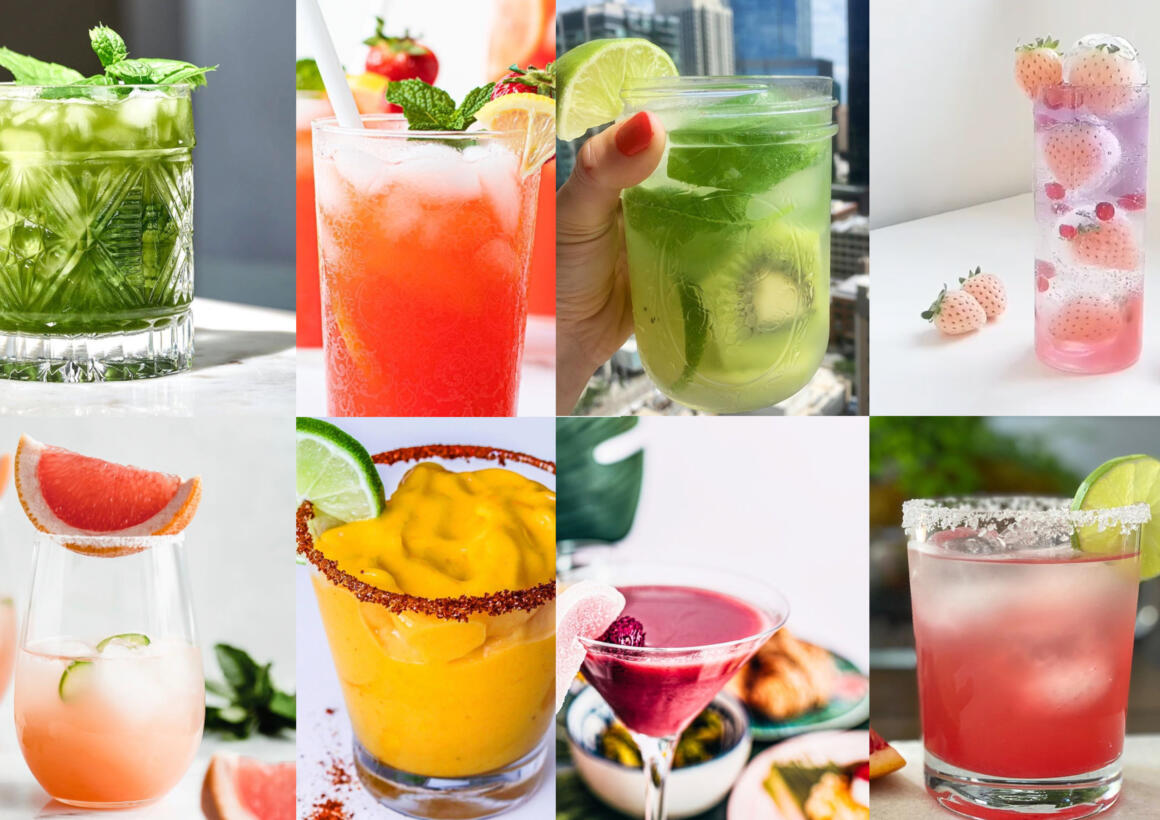 10 Healthy-ish Cocktail Ideas You Can Make This Weekend