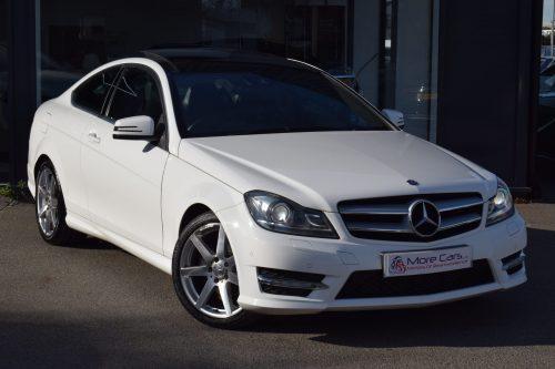 Mercedes-Benz C Class 2.1 C220 CDI BlueEFFICIENCY AMG Sport Sport Coupe 7G-Tronic Plus 2dr