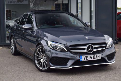 Mercedes-Benz C Class 2.1 C250 CDI BlueTEC AMG Line 7G-Tronic Plus (s/s) 4dr
