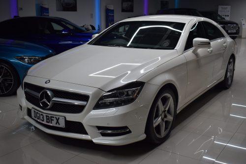 Mercedes-Benz CLS 2.1 CLS250 BlueEFFICIENCY AMG Sport 7G-Tronic Plus (s/s) 4dr