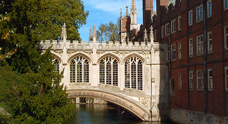 Bridge of Sighs, St Johns College, Cambridge