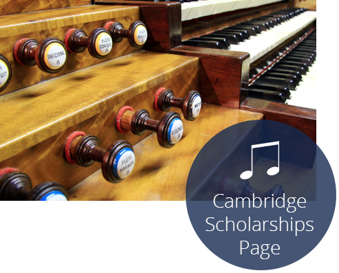 Cambridge music scholarships