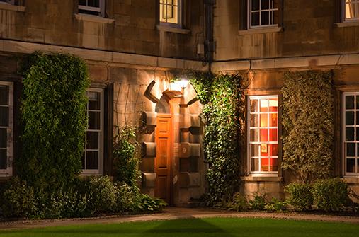 Trinity College Quad Door